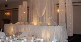 Wedding Backdrop Ideas For Reception How To Make Diy Lighted Wedding Columns Google Search Wedding