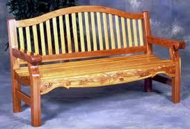 garden bench woodworking plan forest street designs