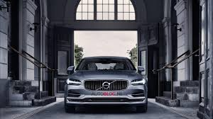 volvo official all new volvo s90 leaks out ahead of official debut autoevolution