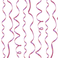 curling ribbon curling ribbon pink on white fabric weavingmajor spoonflower