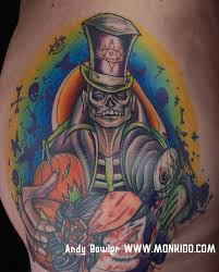 monki do tattoo studio voodoo priest tattoo by andy bowler monki