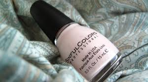 review sinful colors professional nail polish easy going