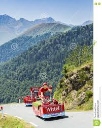 Pyrenees Mountains Map Vittel Caravan In Pyrenees Mountains Tour De France 2015