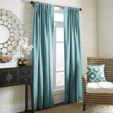 Curtains 100 Length Teal Tab Top Satin Curtain Panel Hd Home Direct Limited And Black