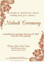Mehndi Cards Wedding Invite Templates Alesi Info