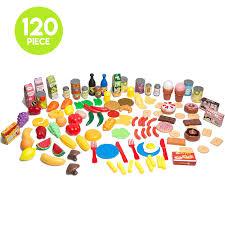 Toy Kitchen Set Food Toddler Kitchen Playset
