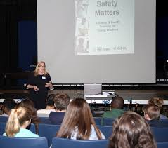 program teaches kids about workplace safety cape cod chronicle