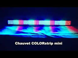 chauvet colorstrip mini led dj nite club lights for sale on ebay