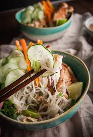 Noodle Salad Recipes Vietnamese Chicken Rice Noodle Salad Sweetphi