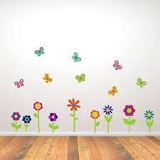 wall stickers flowers butterflies home decor interior exterior