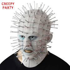 Realistic Halloween Costumes Online Shop Halloween Mask Horror Movie Hellraiser Scary Pinhead