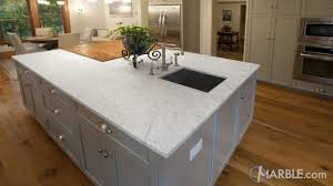 carrara marble kitchen island use white carrara marble in your home kitchen and bathroom ideas
