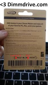steam card steam gift card code