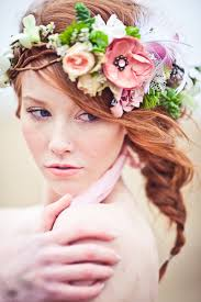 flowers for hair anyone wear a hair flower and a veil weddingbee