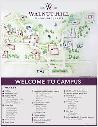 Boston College Campus Map by Campus Map Walnut Hill For The Arts