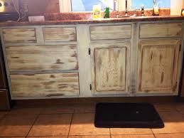 antiqued kitchen cabinets kitchen decoration