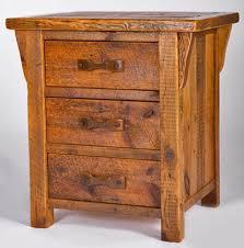 rustic nightstands u2013 end tables u2013 urdezign lugar
