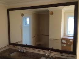 White Framed Oval Bathroom Mirror - bathroom vanity mirrors bathroom mirror square oval framed