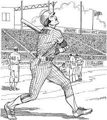 Yankee Batter Baseball Coloring Page Purple Kitty Coloring Yankee Doodle Coloring Page 2