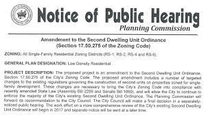Accessory Dwelling Unit by An Open Letter To The Pasadena Planning Commission Urging A