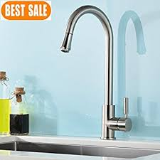 kitchen faucets contemporary vapsint modern stainless steel single handle single pull out