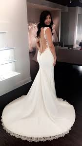 wedding dresses orlando low back open back lace wedding dress from solutions bridal ines