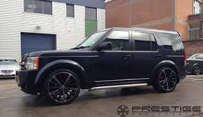 land rover black land rover discovery with 22