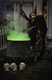 Plastic Lighted Halloween Decorations by 48 Creepy Outdoor Halloween Decoration Ideas Outdoor Halloween