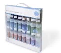martha stewart crafts glitter multipack 24 per pack amazon ca