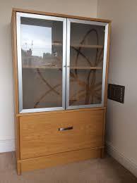 effektiv ikea ikea effektiv oak finish home office filing cabinet cupboard with