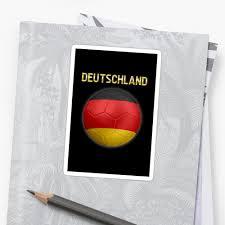 German Flag Shirt Deutschland German Flag Football Or Soccer Ball U0026 Text 2