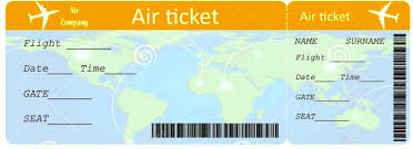 airplane ticket printable template template update234 com
