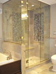 Bathroom Shower Ideas On A Budget Custom Master Bath Shower Stall With Niches During The