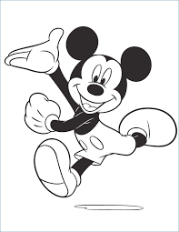 mickey mouse new years coloring pages mickey mouse disney happy birthday coloring pages rkomitet org