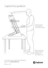 stunning standing desk ergonomics diagram images moder home