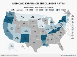 Show Me A Map Of Florida by Map Shows States Hit Hardest By Medicaid Cuts In Senate Healthcare