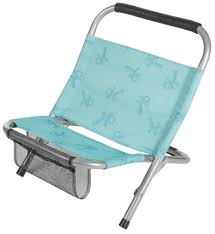 Folding Low Beach Chair Halfords Low Folding Chair Blue Steel Tubes Camping Festival Beach