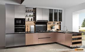 white metal kitchen cabinets metallic kitchen cabinets oppein