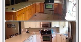 Kitchen Cabinets Antique White General Finishes Milk Paint Kitchen Makeover Antique White