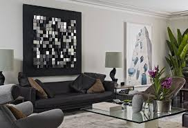 modern wall decor living room home design