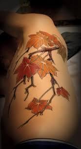 maple tree symbolism jeff norton tattoos maple leave branch 99243 tattoos