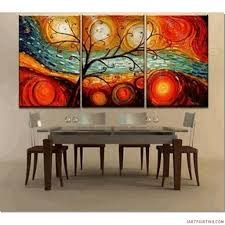 modern art painting ideas abstract paintings 3pcs canvas set