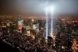 9 11 Memorial Lights The Freedom Tower With The 9 11 Tribute In Light The View U2026 Flickr