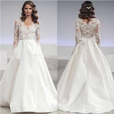 aliexpress com buy satin skirt wedding dress 2017 v neck top