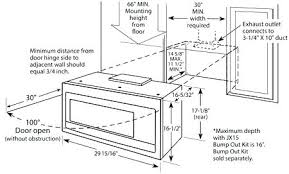 under cabinet microwave height typical microwave dimensions microwave dimensions typical image