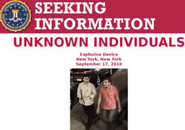Seeking Nyc Fbi Seeking Information 2 Connection With Nyc Bombing