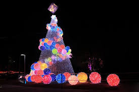 outdoor christmas light balls colorful modern christmas trees with light balls modern christmas