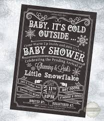 winter baby shower winter baby shower invitation black background founterior