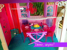 Barbie Dining Room Set Revealing The 2013 Barbie Dream House 1960 U0027s Versus 2013 Must