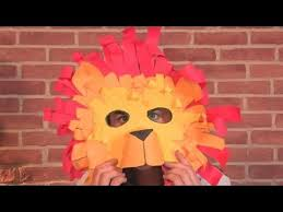 lion mask for kids how to make a lion mask